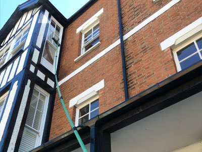 our commercial window cleaner