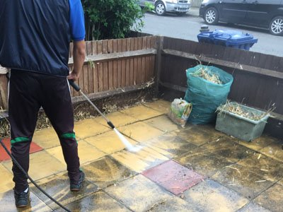 our jet washer
